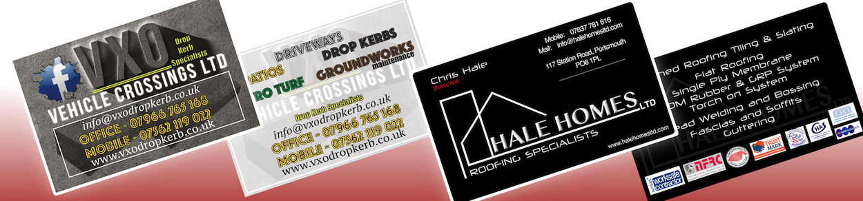 Recording and media studio in portsmouth our business cards reheart Images